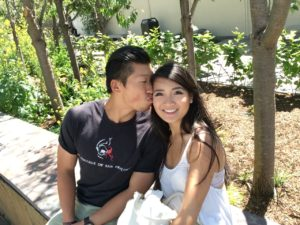 Harmony Chen and boyfriend Jason say they are glad they met on Tinder.