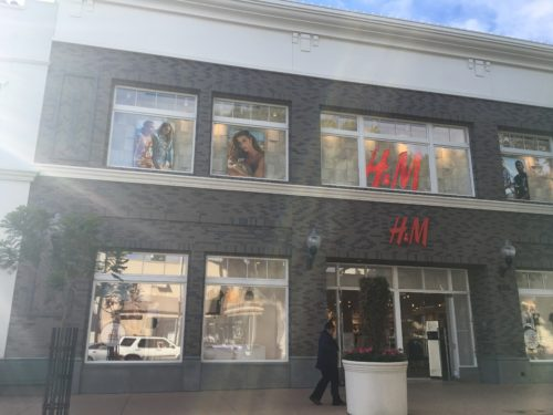H&M, San Luis Obispo's latest addition to its Chinatown project.